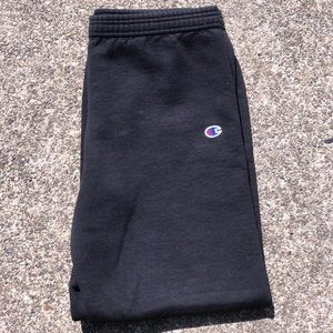 CHAMPION black sweatpants